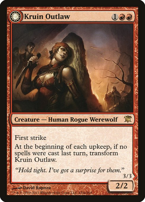 Kruin Outlaw // Terror of Kruin Pass (ISD)
