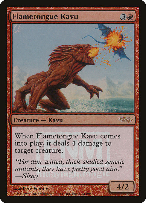 Flametongue Kavu (F05)