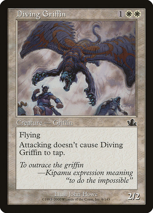 Diving Griffin (PCY)