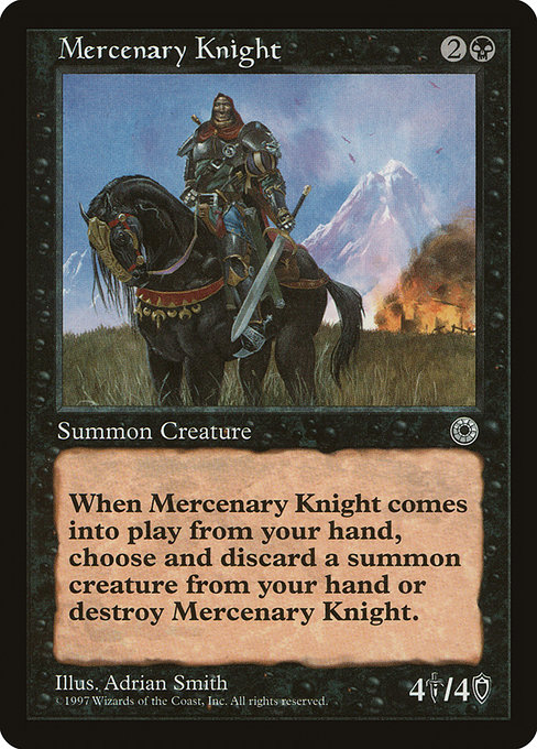 Mercenary Knight (POR)
