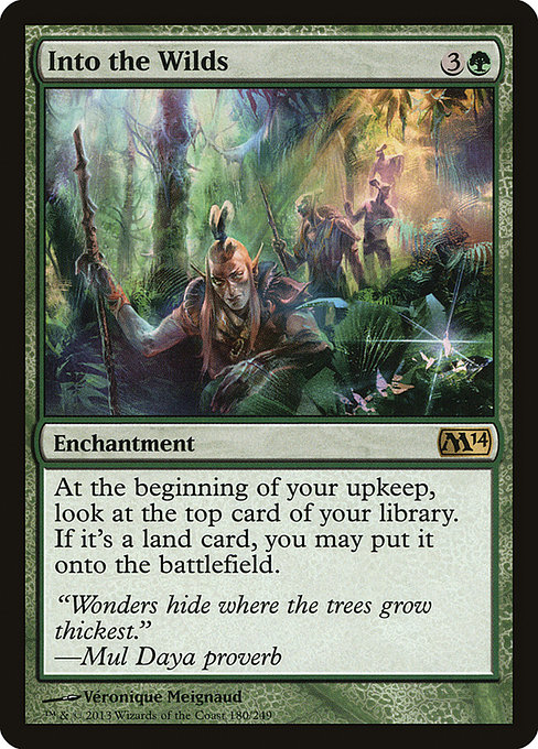 Into the Wilds (M14)