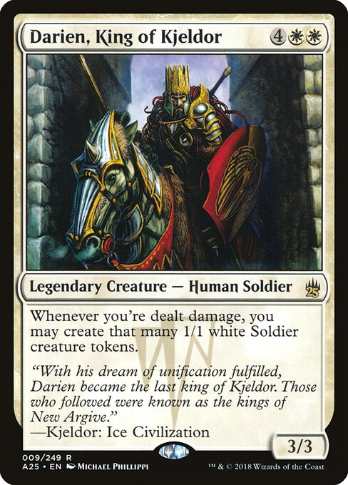 Darien, King of Kjeldor (A25)