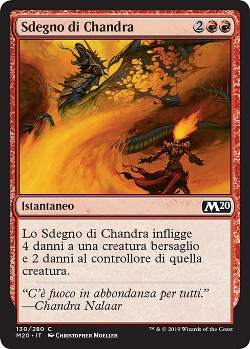 Chandra's Outrage (M20)