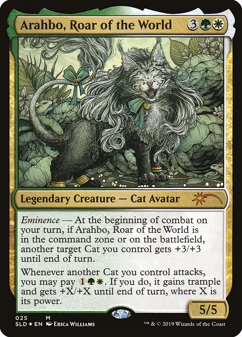 Arahbo, Roar of the World (SLD)