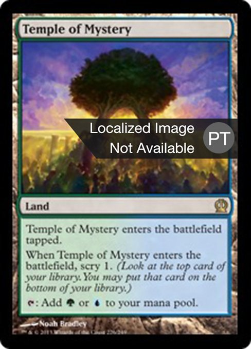 Temple of Mystery (THS)