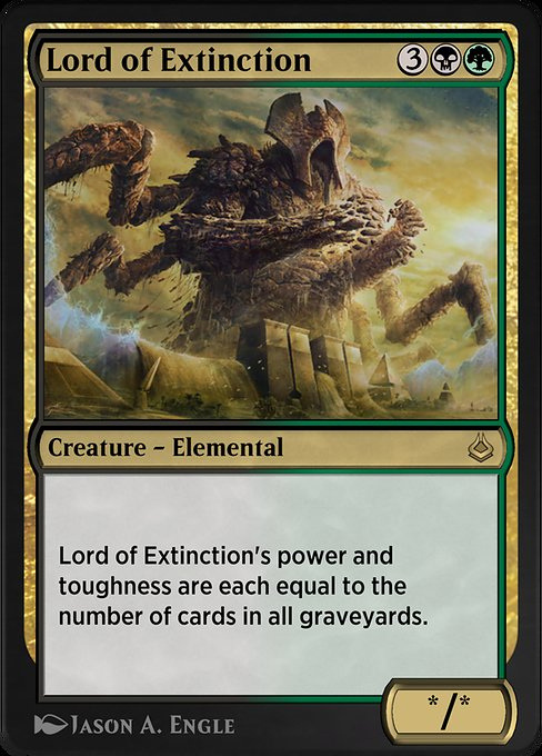 Lord of Extinction (AKR)