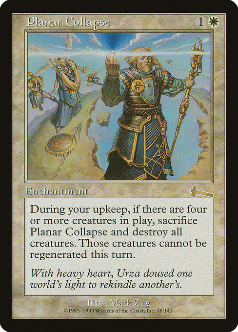 Planar Collapse (ULG)