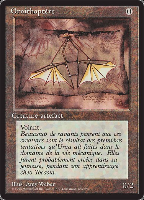 Ornithopter (FBB)