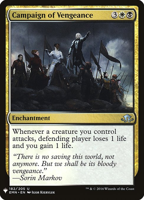 Campaign of Vengeance (MB1)