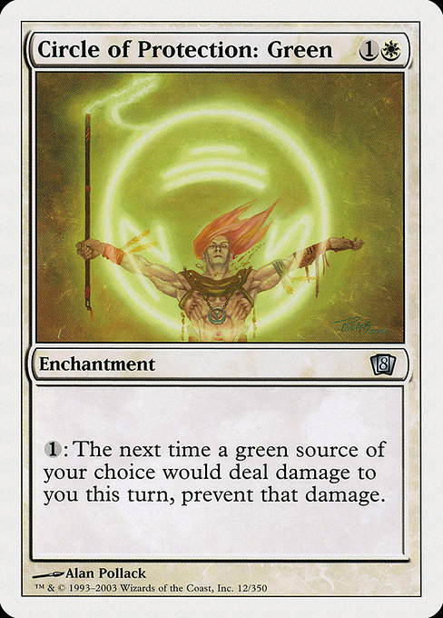 Circle of Protection: Green (8ED)