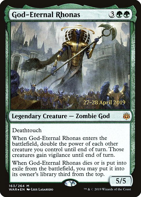 God-Eternal Rhonas (PWAR)