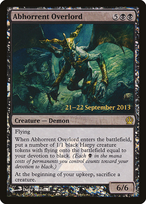 Abhorrent Overlord (PTHS)