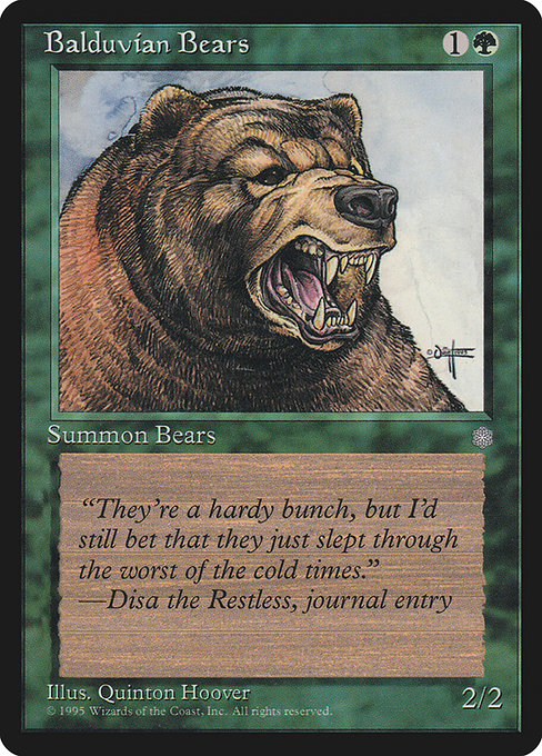 Balduvian Bears (ICE)