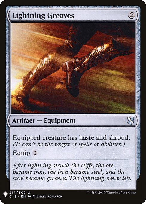 Lightning Greaves (MB1)
