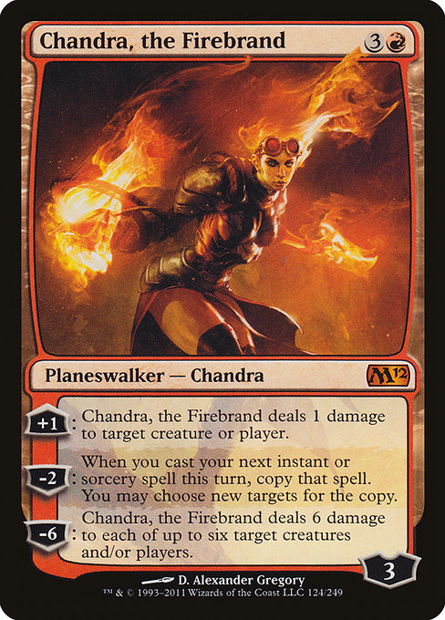 Chandra, the Firebrand (M12)