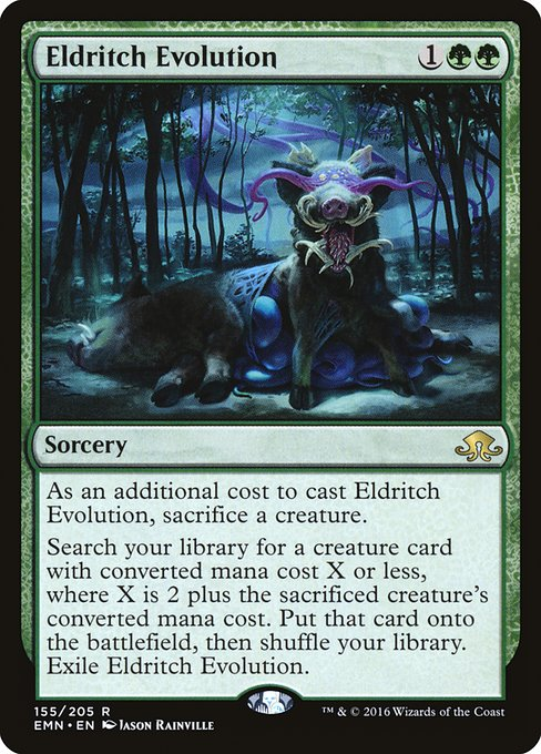 Eldritch Evolution (EMN)