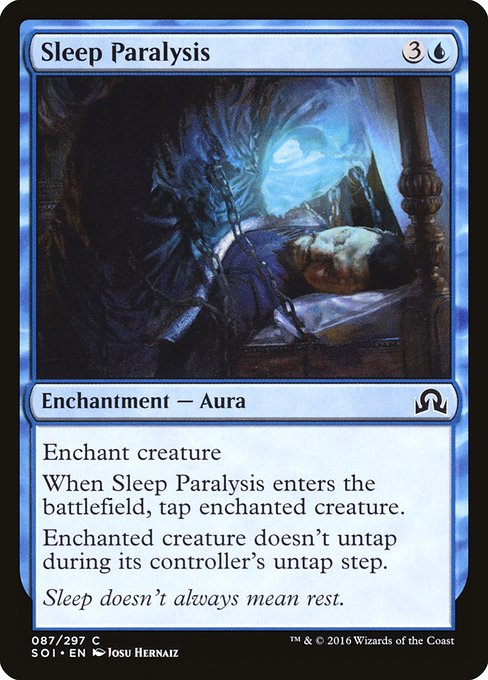 Sleep Paralysis (SOI)