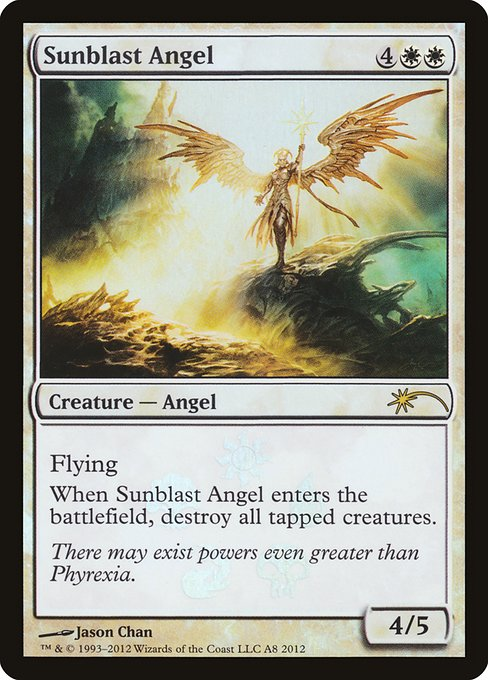 Sunblast Angel (PRES)