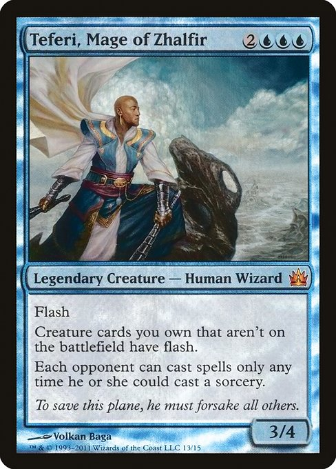 Teferi, Mage of Zhalfir (V11)