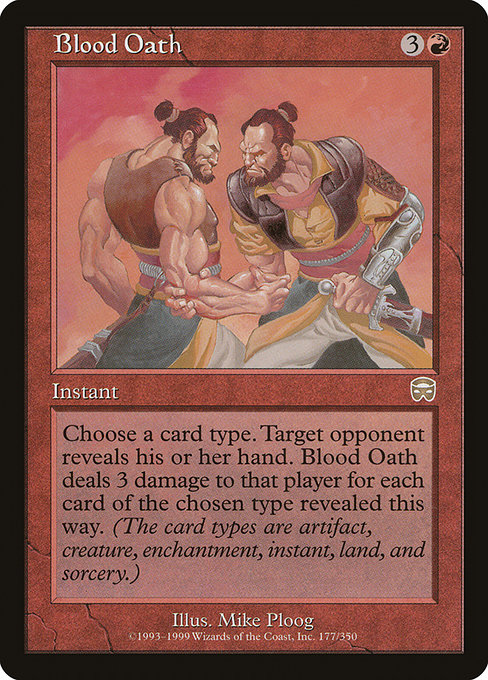 Blood Oath (MMQ)