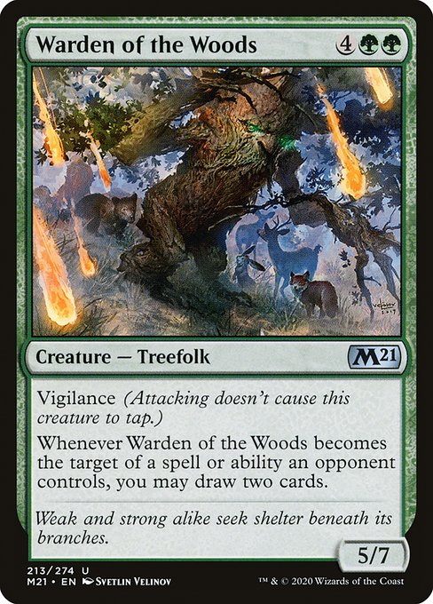 Warden of the Woods (M21)