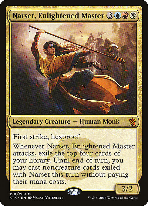 Narset, Enlightened Master (KTK)
