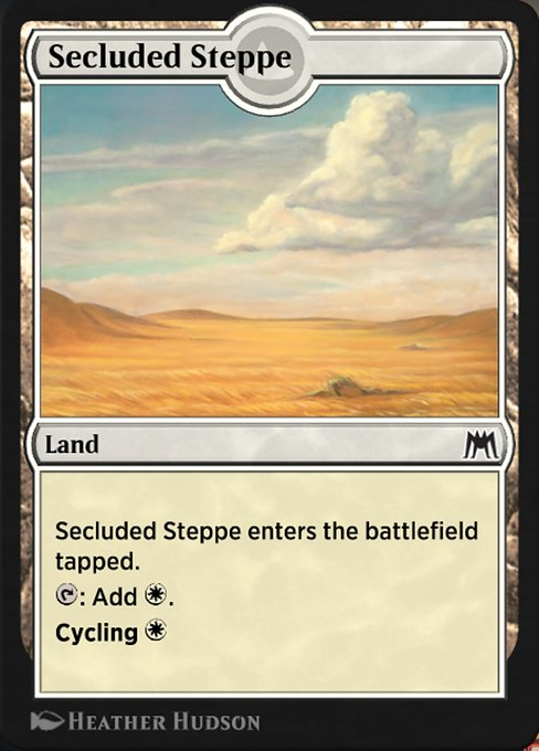 Secluded Steppe (HA2)