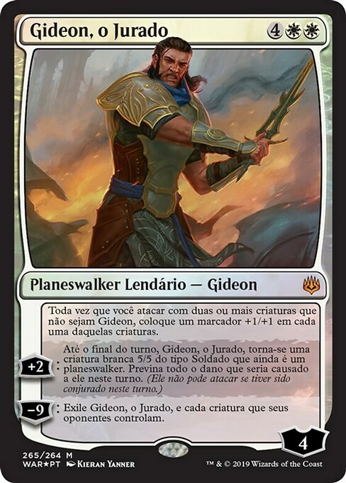 Gideon, the Oathsworn (WAR)