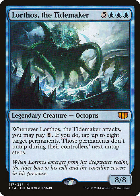 Lorthos, the Tidemaker (C14)