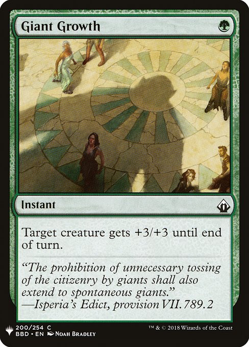 Giant Growth (MB1)