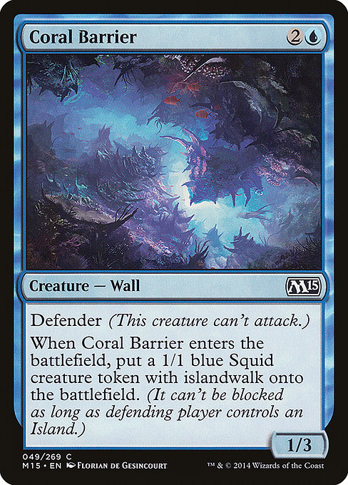 Coral Barrier (M15)