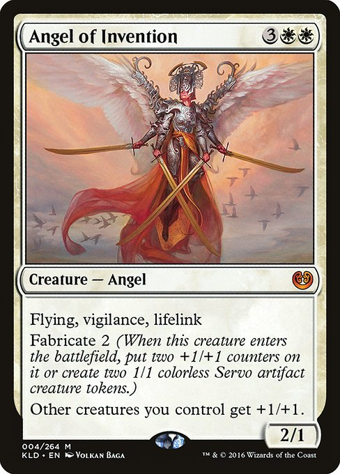 Angel of Invention (KLD)