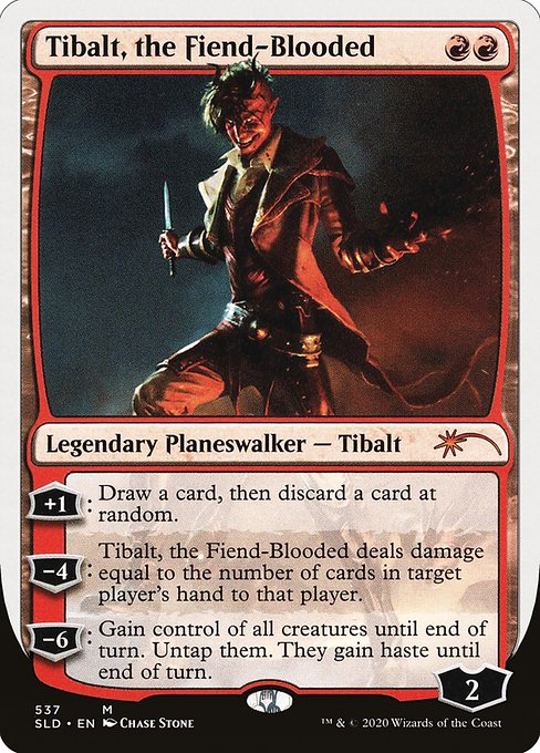 Tibalt, the Fiend-Blooded (SLD)