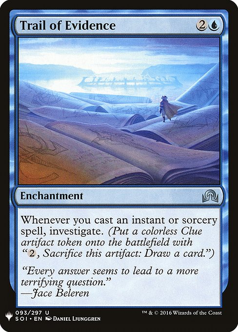 Trail of Evidence (MB1)