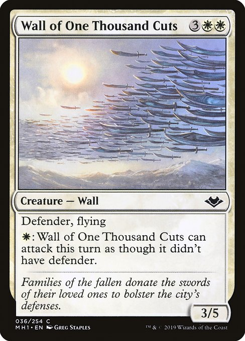Wall of One Thousand Cuts (MH1)
