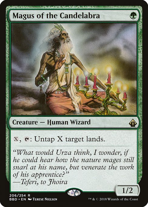 Magus of the Candelabra (BBD)
