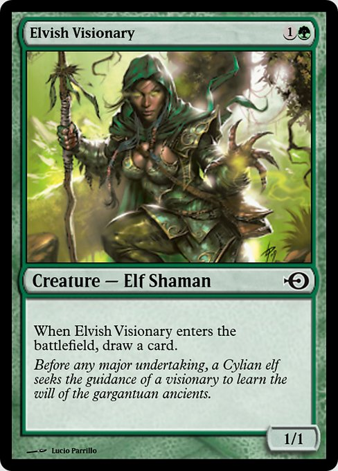 Elvish Visionary (PRM)
