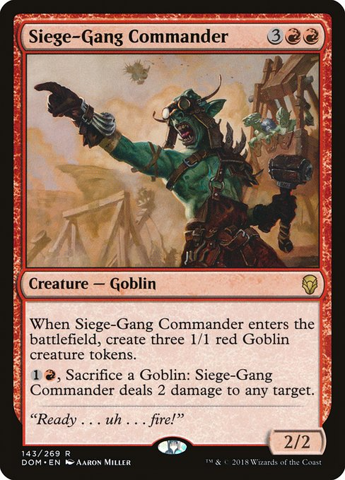 Siege-Gang Commander (DOM)