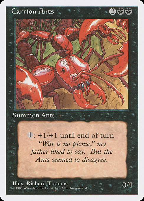 Carrion Ants (4ED)
