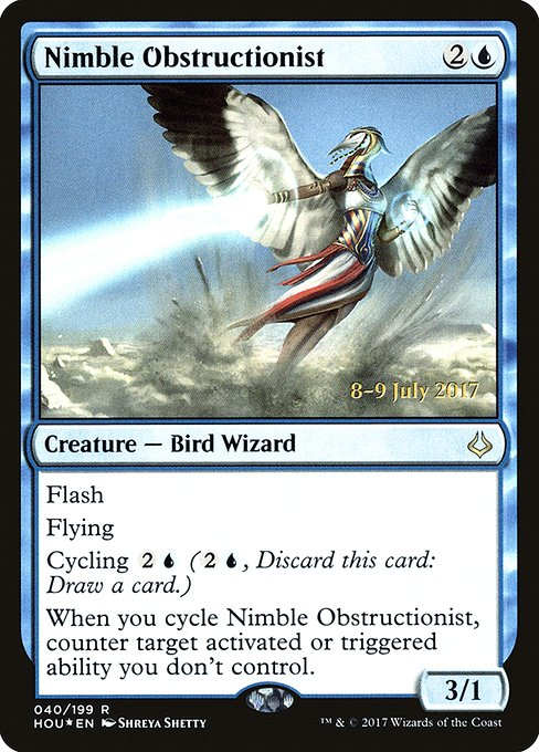 Nimble Obstructionist (PHOU)