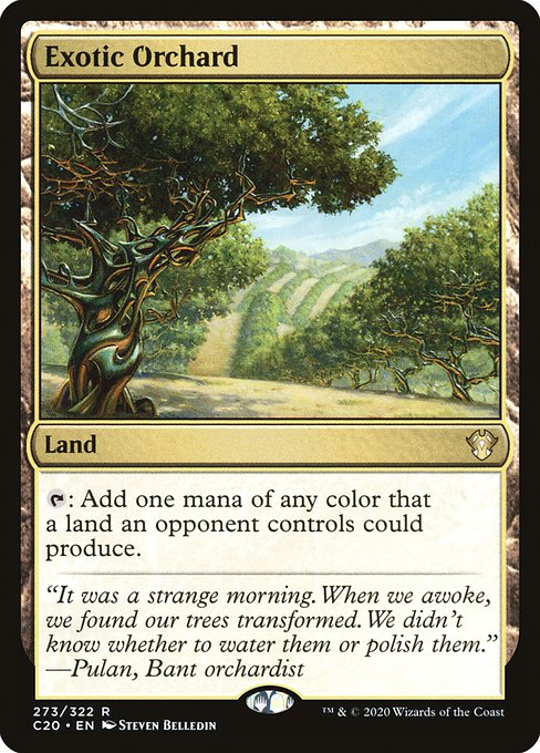 Exotic Orchard (C20)