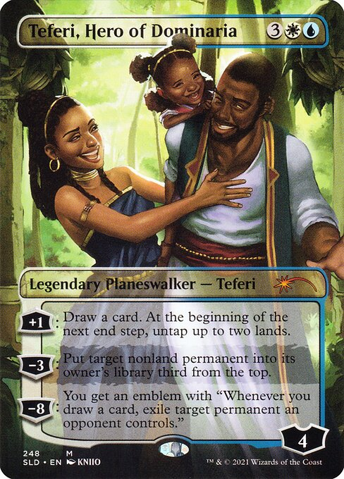 Teferi, Hero of Dominaria (SLD)