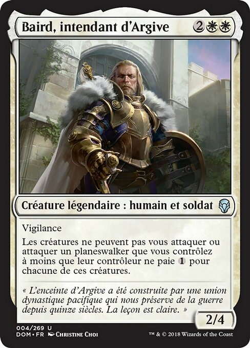 Baird, Steward of Argive (DOM)
