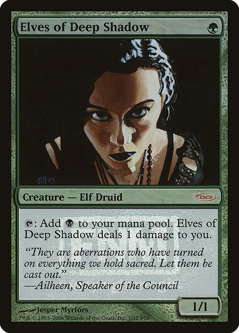 Elves of Deep Shadow (F06)