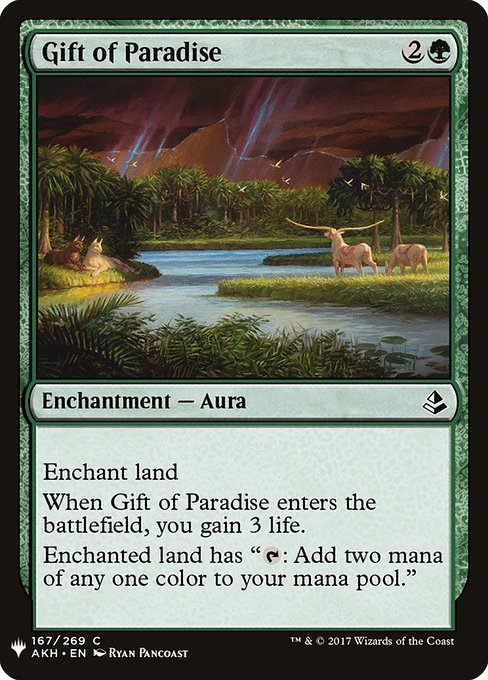 Gift of Paradise (MB1)