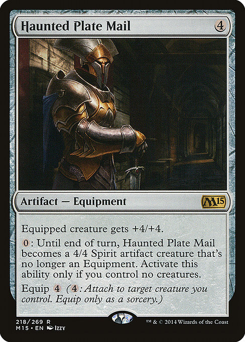 Haunted Plate Mail (M15)