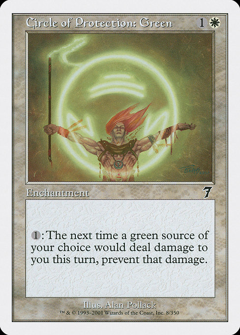 Circle of Protection: Green (7ED)