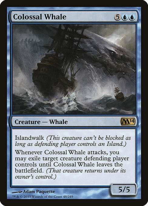 Colossal Whale (M14)