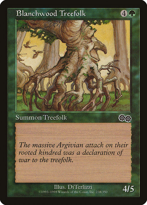 Blanchwood Treefolk (USG)