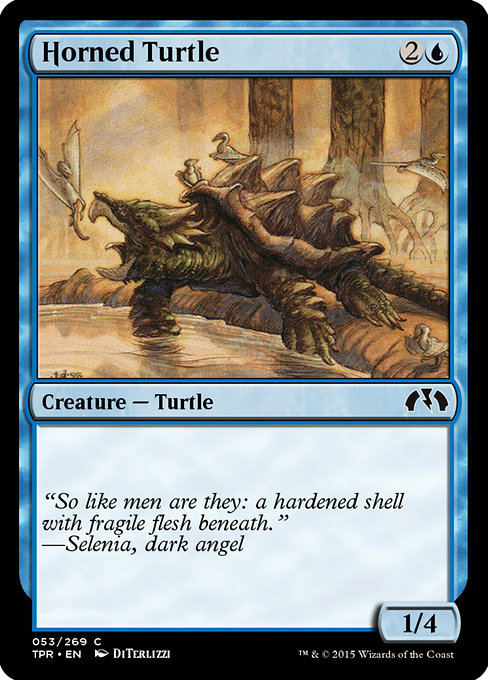 Horned Turtle (TPR)